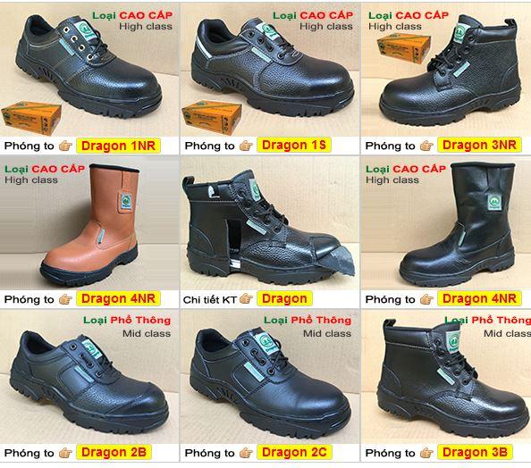 Đại lý bán giày da bảo hộ Dragon giá sỉ rẻ nhất tại Hồ Chí Minh