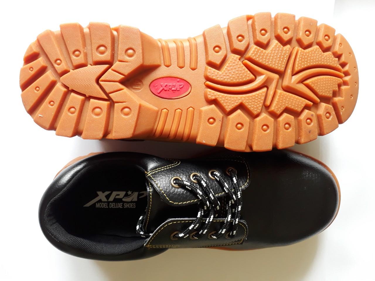 Giày bảo hộ lao động ABC, XP mũi sắt giá rẻ nhất Hồ Chí Minh