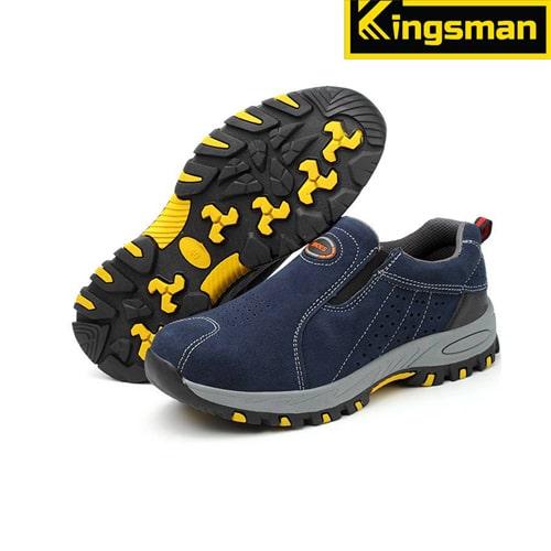 Giày bảo hộ lao động Kingsman Aiden màu xanh