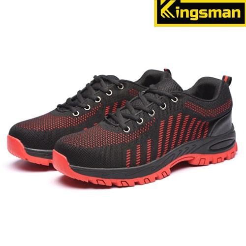 Giày bảo hộ lao động Kingsman Runner màu đỏ