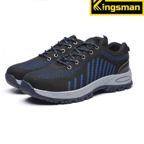 Giày bảo hộ lao động Kingsman Runner màu xanh