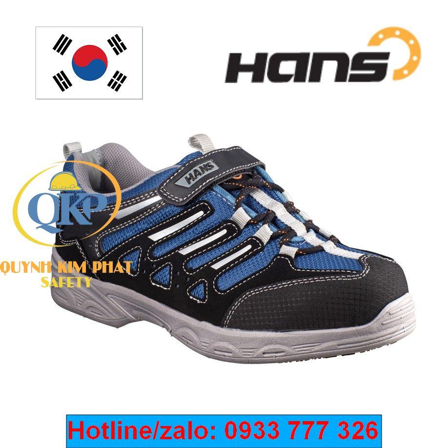 Giày Hans HS038-2 siêu nhẹ màu xanh