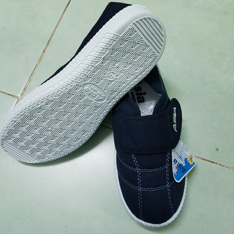 Giày vải bata quai dán ASIA