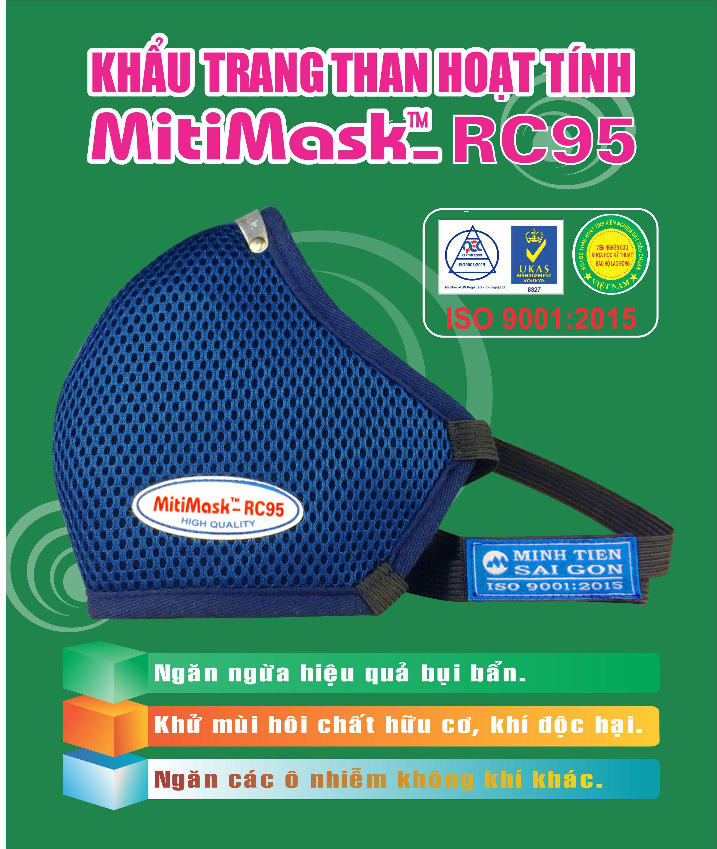 Khẩu trang bảo hộ MitiMask RC95